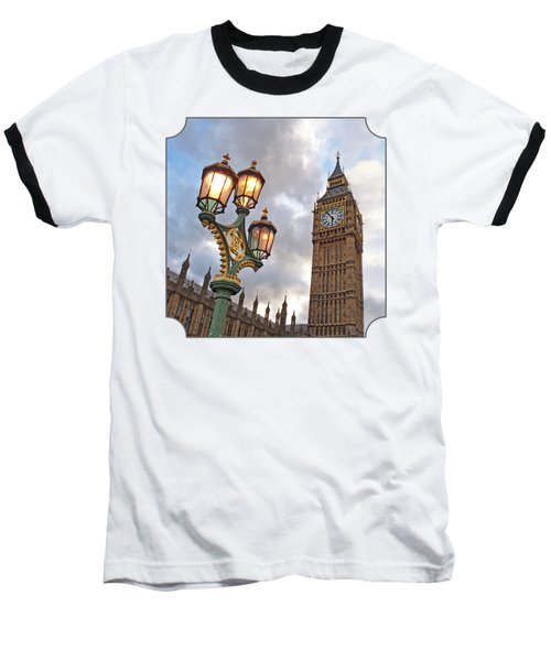 Evening Light At Big Ben Baseball T-Shirt