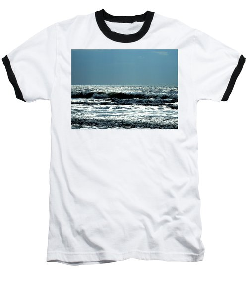 Baseball T-Shirt featuring the photograph Evening Light by Cathy Harper