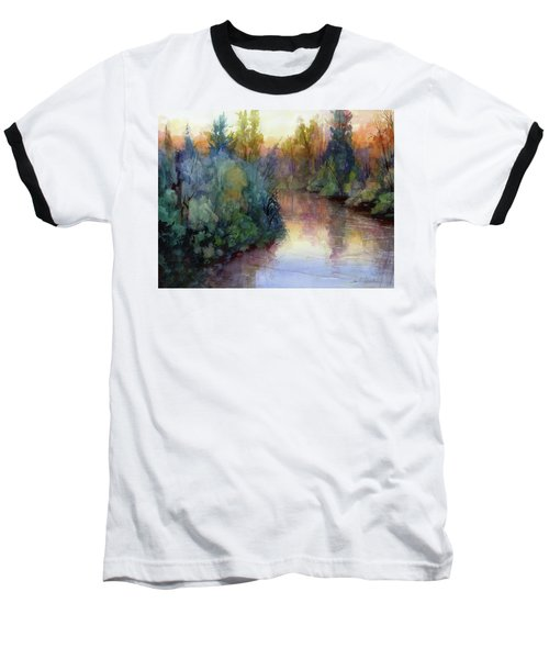 Evening On The Willamette Baseball T-Shirt