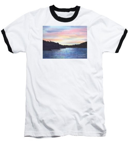Evening Silhouette Baseball T-Shirt