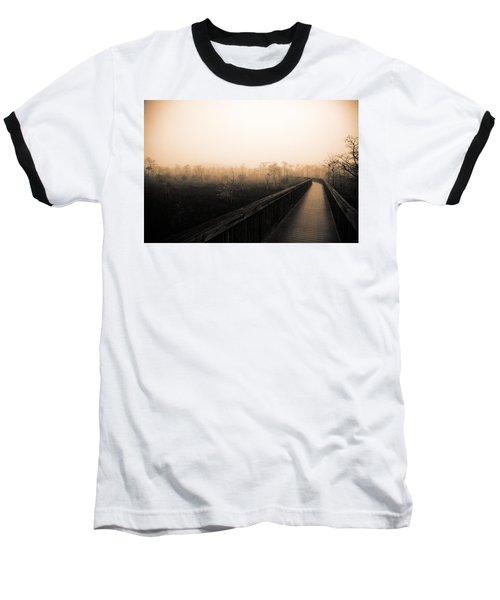 Everglades Boardwalk Baseball T-Shirt