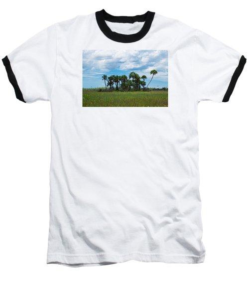 Everglades Landscape Baseball T-Shirt