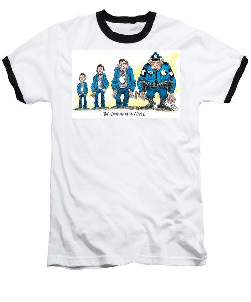 Evolution Of Apple Baseball T-Shirt