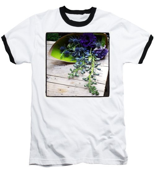 Baseball T-Shirt featuring the photograph Excellent Customer Service. #flowers by Mr Photojimsf