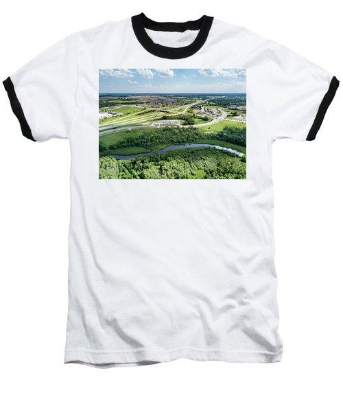Baseball T-Shirt featuring the photograph Exit 43 by Randy Scherkenbach