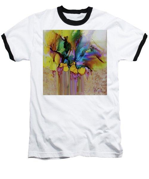 Explosion Of Petals Baseball T-Shirt