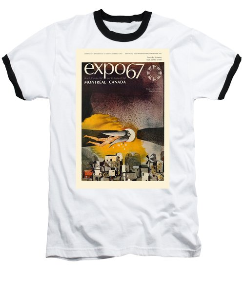 Expo 67 Baseball T-Shirt by Andrew Fare