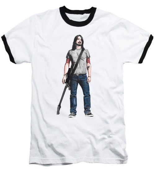 Extraordinary Hero Cutout Baseball T-Shirt