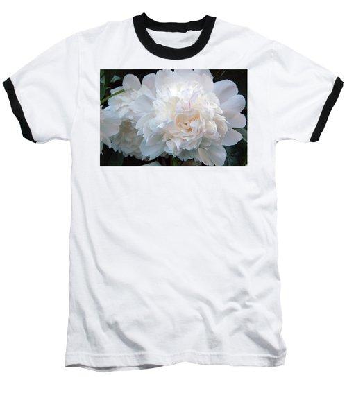 Extravagant Peony Baseball T-Shirt