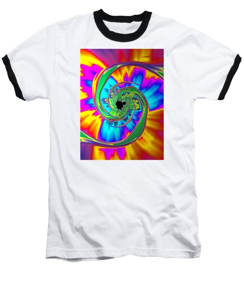 Baseball T-Shirt featuring the photograph Eye Of The Rainbow by Ronda Broatch