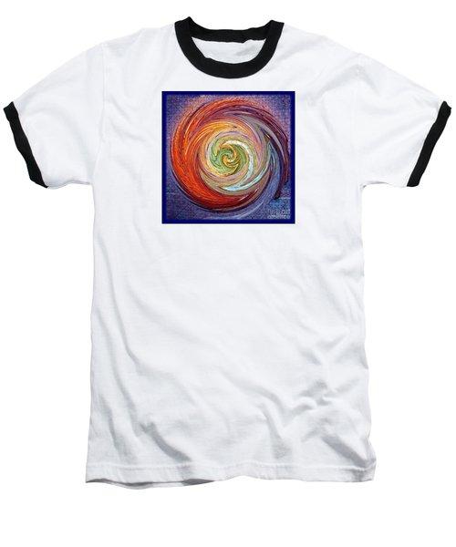 Eye Of The Storm Baseball T-Shirt