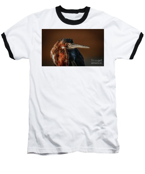 Eye To Eye With Heron Baseball T-Shirt