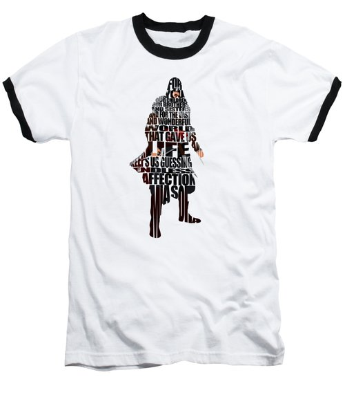 Ezio Auditore Da Firenze Baseball T-Shirt by Ayse Deniz