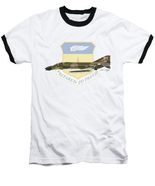 F-4d Phantom Bitburg Baseball T-Shirt by Arthur Eggers
