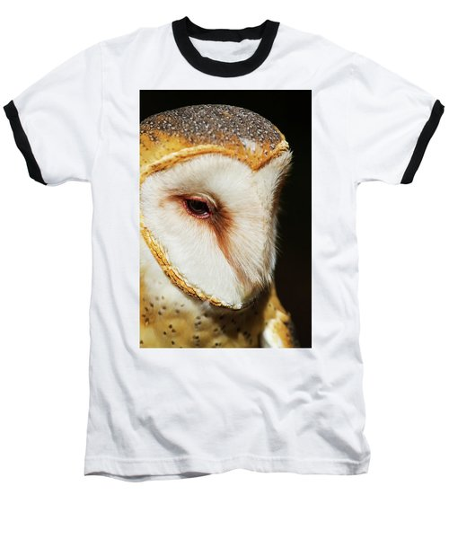Baseball T-Shirt featuring the photograph Face Of Athena by Arthur Dodd