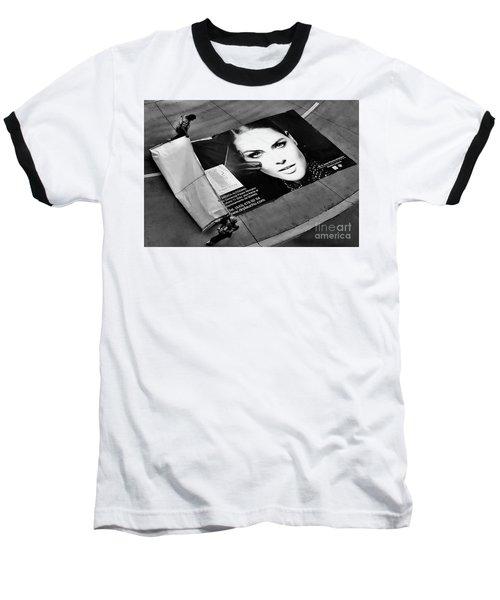Face On The Floor Baseball T-Shirt