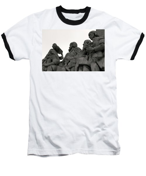 Faces Of The Monument Baseball T-Shirt