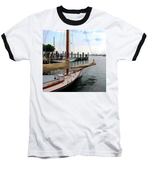 Fair Weather Annapolis  Baseball T-Shirt