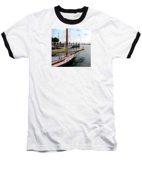Fair Weather Annapolis  Baseball T-Shirt