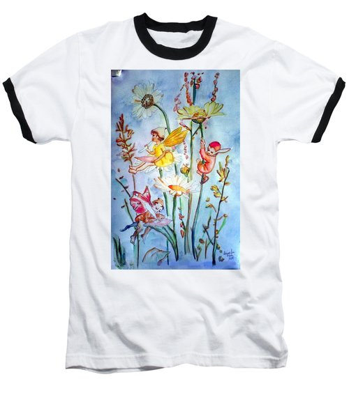 Fairy Babies Baseball T-Shirt