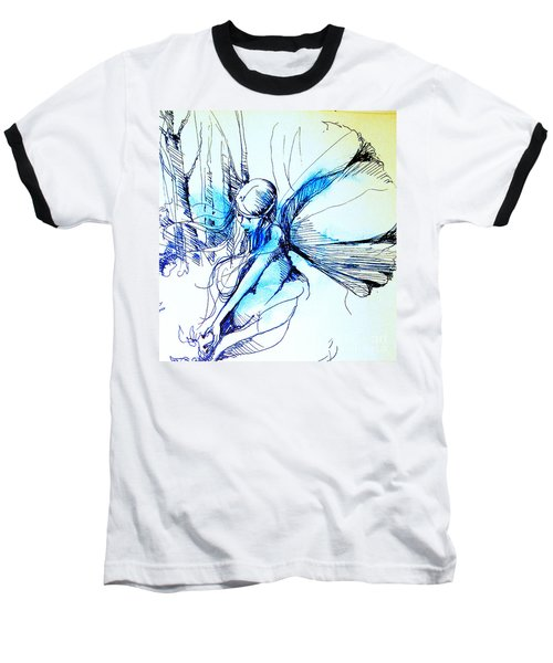 Fairy Doodles Baseball T-Shirt