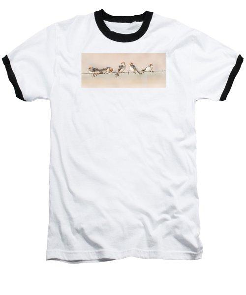 Fairy Martins Baseball T-Shirt