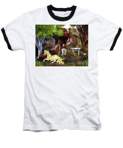 Fairy Retreat Baseball T-Shirt