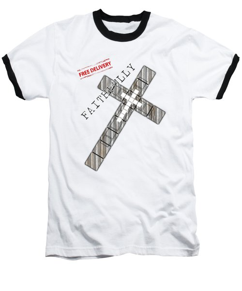 Faithfully Baseball T-Shirt