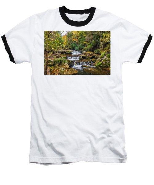 Fall At Bark Camp Creek Baseball T-Shirt