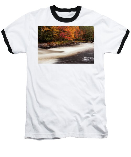 Fall At Oxtongue Rapids Baseball T-Shirt