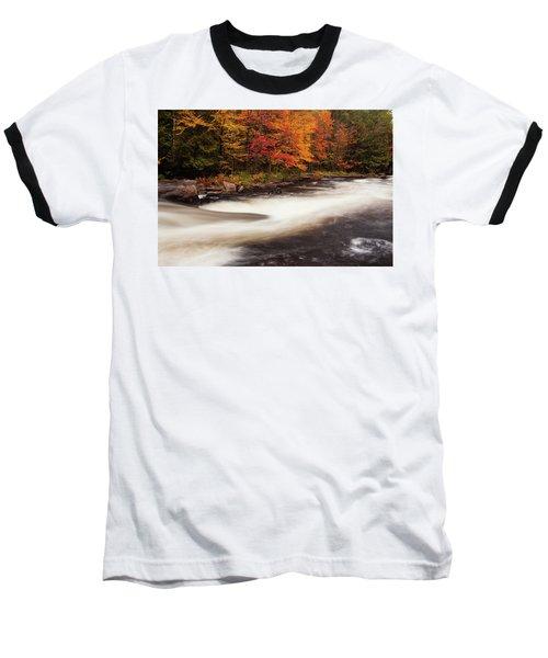 Fall At Oxtongue Rapids Baseball T-Shirt