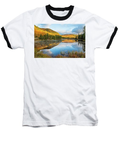 Fall By The Lake Baseball T-Shirt