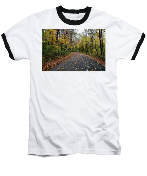 Fall Color Series 2016 Baseball T-Shirt by Joanne Coyle