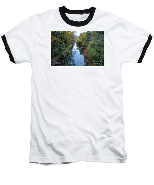 Fall Colors Along The Tallulah River Baseball T-Shirt
