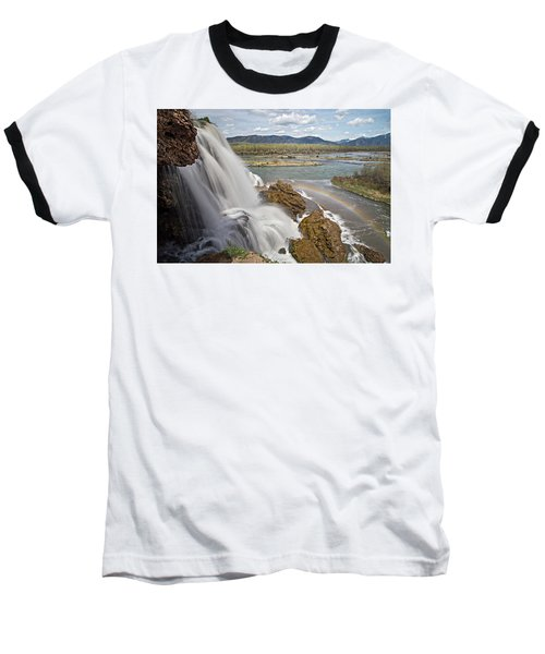 Baseball T-Shirt featuring the photograph Fall Creek Falls by Wesley Aston