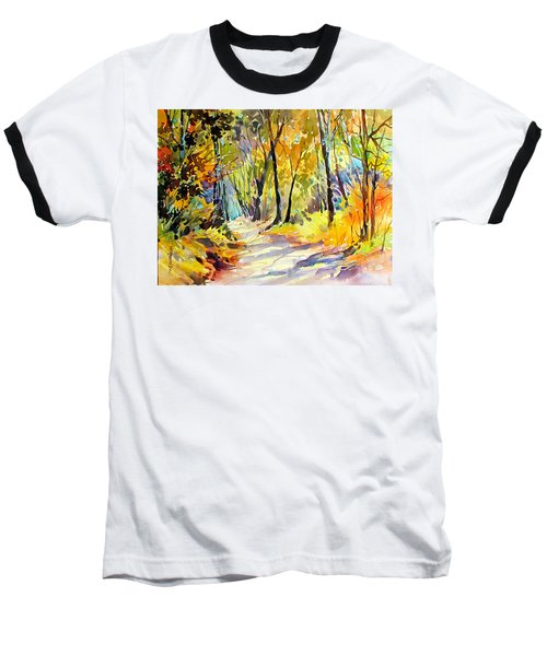Fall Dazzle, Tennessee Baseball T-Shirt by Rae Andrews
