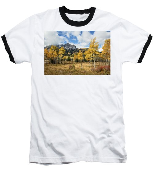 Fall In Kananaskis Baseball T-Shirt