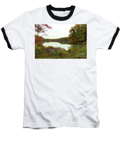 Fall In New York Baseball T-Shirt