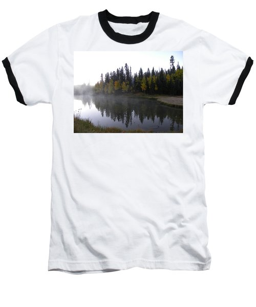 Kiddie Pond Fall Colors Divide Co Baseball T-Shirt