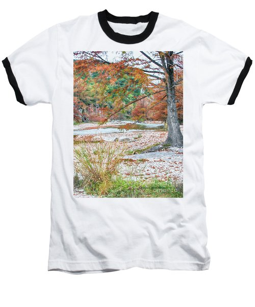 Fall In Texas Hills Baseball T-Shirt