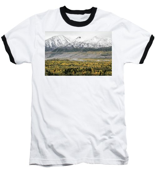 Fall In Wrangell - St. Elias Baseball T-Shirt