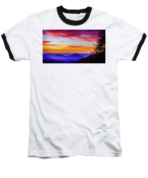 Baseball T-Shirt featuring the photograph Fall On Your Knees by Karen Wiles