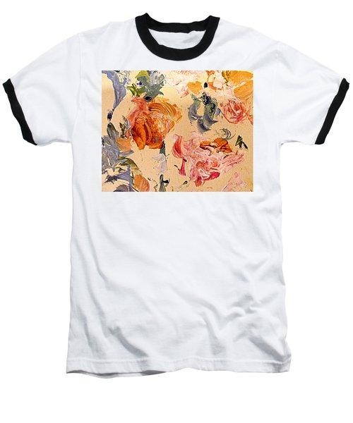 Fall Roses Baseball T-Shirt