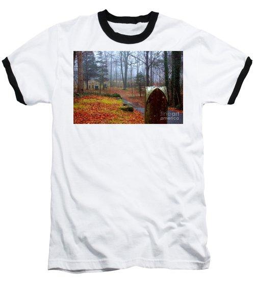 Fall Baseball T-Shirt by Steven Macanka