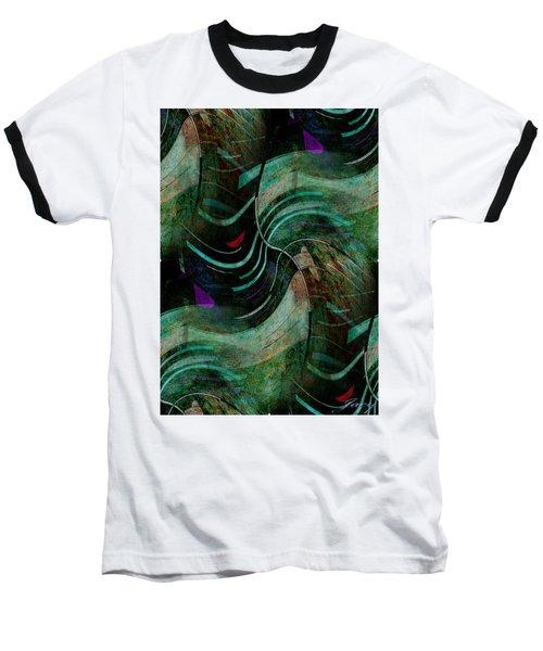 Fallen Angle Baseball T-Shirt by Sheila Mcdonald