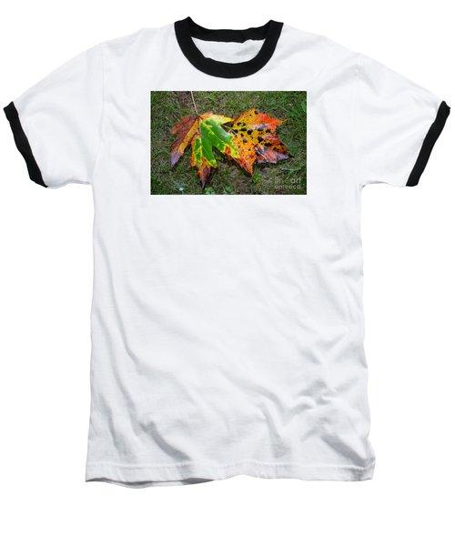Falling For You Baseball T-Shirt by Lew Davis