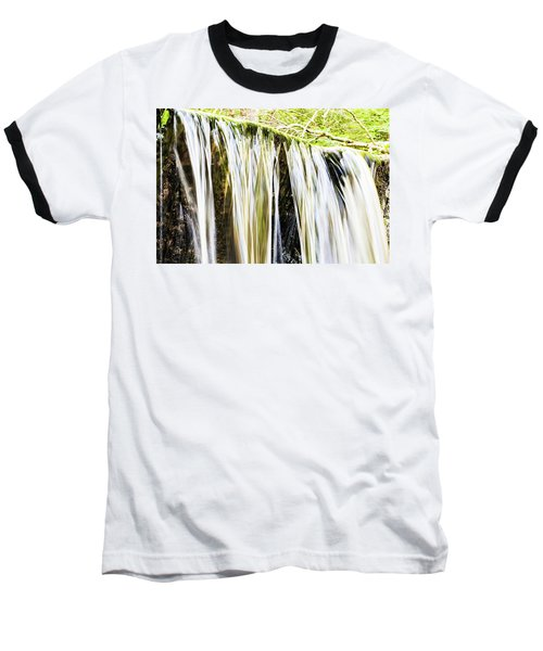 Falling Water Mirror Baseball T-Shirt
