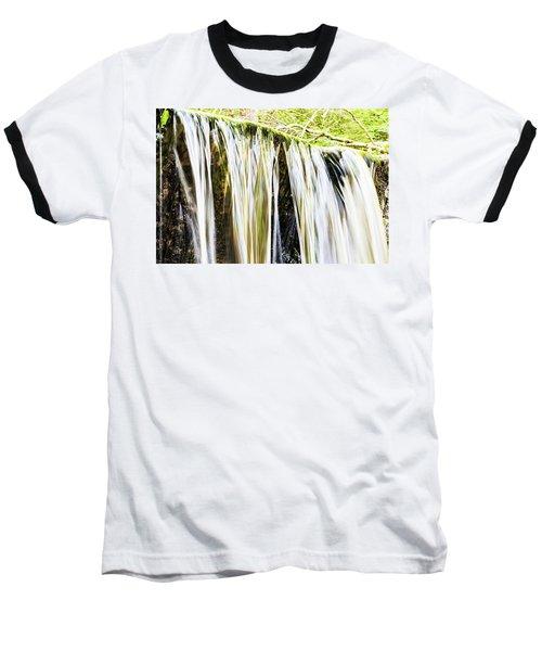 Falling Water Mirror Baseball T-Shirt