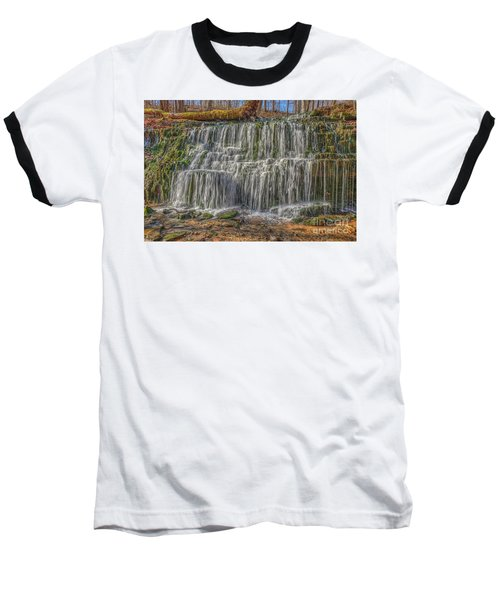 Falling Water Baseball T-Shirt