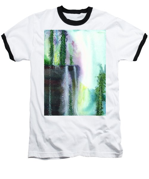 Falling Waters 1 Baseball T-Shirt